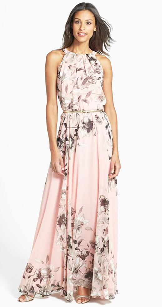 cc0d1f3baf2a Abito lungo fiori rosa – Modelli alla moda di abiti 2018