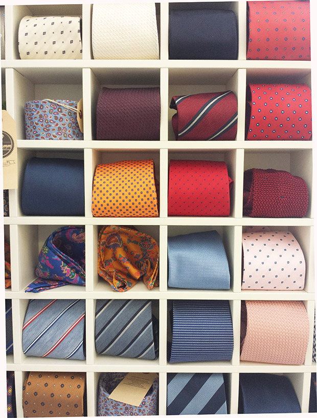 bespoke cravatte