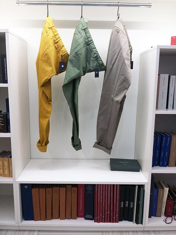 bespoke pantaloni